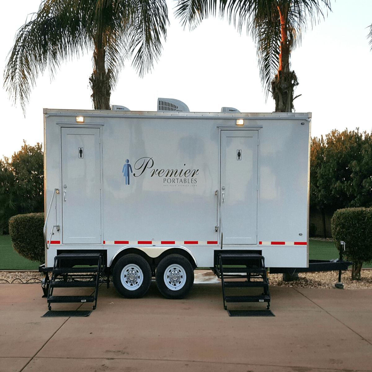 Portable Restroom Trailers In Chico, California | Premier Portables